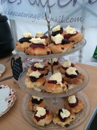 Scones - jam or cream first?