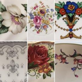 Vintage China patterns